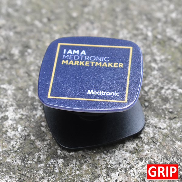 inexpensive bulk phone stand marketing giveaway square pop phone sockets