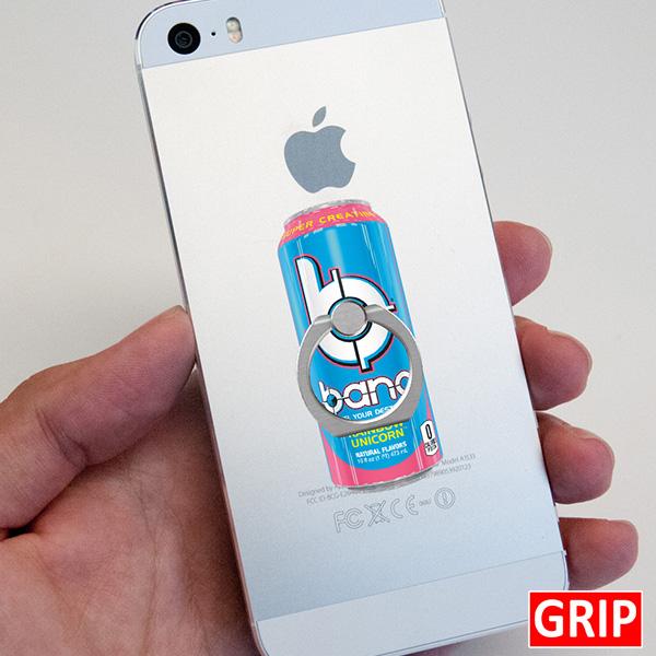 Bang Energy Drink. Custom acrylic ring phone holder