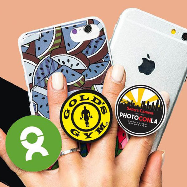 cheap pop phone socket grips for promotional products
