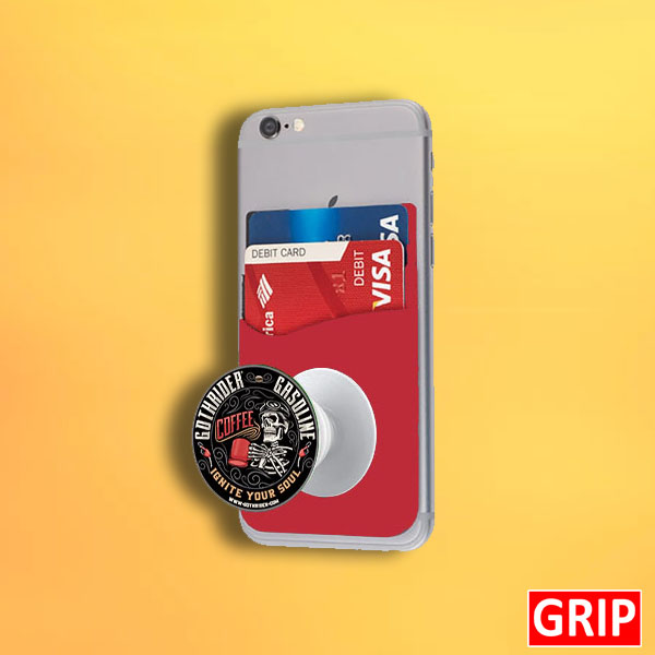 red phone pop wallet for trade shows and busienss marketing