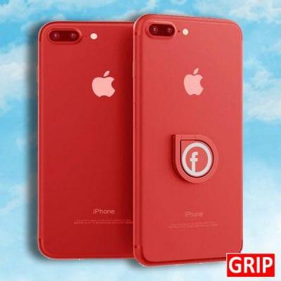 red spinner ring phone socket grip